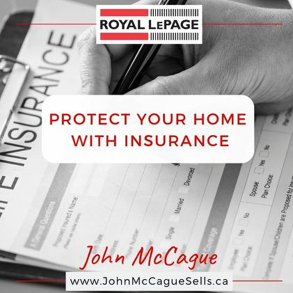 PROTECT YOUR HOME WITH INSURANCE